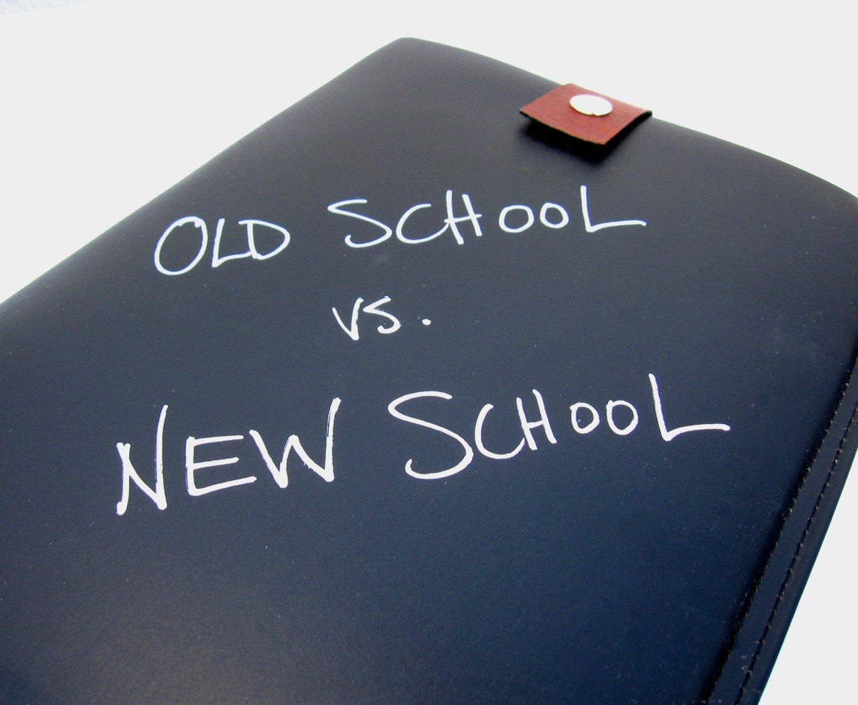 Presentation Styles: Old School vs  New School - Big Fish