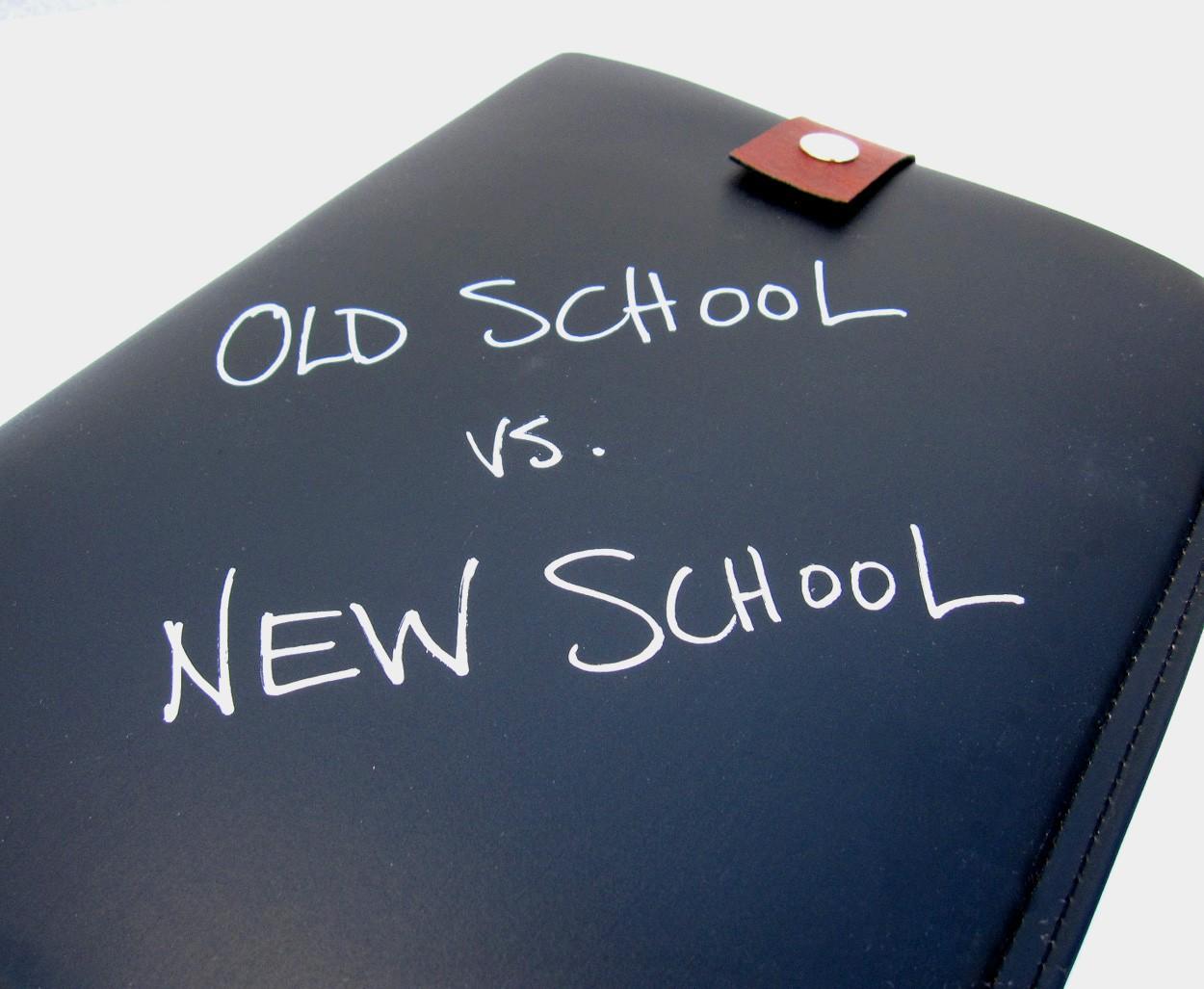 presentation styles old school vs new school big fish presentations